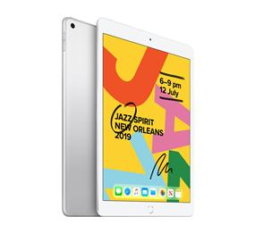 "Apple iPad (7th Gen) Silver - 10.2"", WiFi, 32GB"