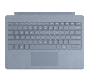 Microsoft Surface Pro Commercial Signature Type Cover - Ice Blue