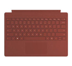 Microsoft Surface Pro Commercial Signature Type Cover - Poppy Red