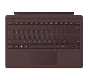 Microsoft Surface Pro Commercial Signature Type Cover - Burgundy