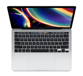 "Apple MacBook Pro Silver - 13"", Touch Bar, 1.4GHz Quad-Core 8th Gen i5, 8GB RAM, 256GB SSD Storage"