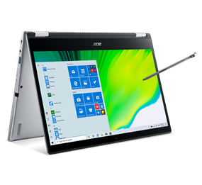 "Acer Spin 3 Convertible - 14"" / 1.0GHz Quad-Core Intel i5-1035G1 Processor / 8GB RAM / 256GB SSD Storage"